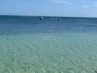 青い海の写真・画像素材[4045494]