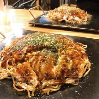 広島のお好み焼きの写真・画像素材[4045575]
