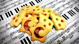 ステンドグラスクッキーの写真・画像素材[4049898]