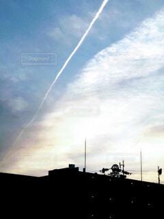 空の虹の写真・画像素材[4373000]