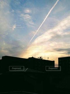 空の雲の写真・画像素材[4373002]