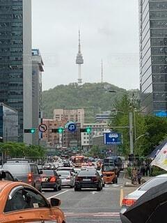 ソウルの日常の写真・画像素材[4047459]