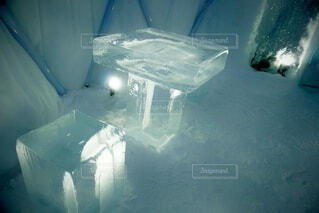 氷のbarの写真・画像素材[4055688]