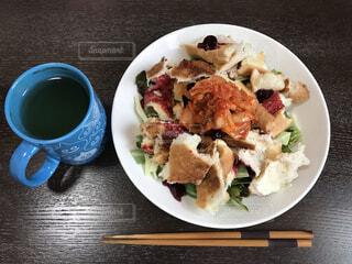 トーストサラダの写真・画像素材[4524343]