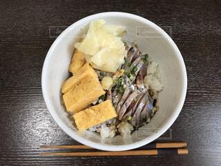 アジの海鮮丼の写真・画像素材[4567432]