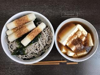 ちくわ蕎麦の写真・画像素材[4625680]