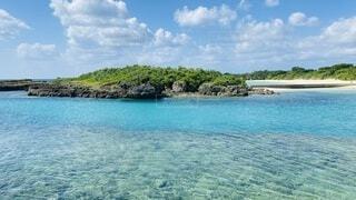 宮古島の海ですの写真・画像素材[4054246]