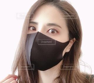 マスクメイクの写真・画像素材[4074882]