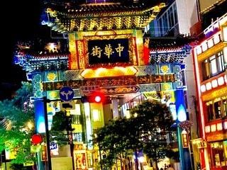 中華街の写真・画像素材[4054765]