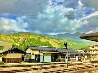 岐阜の駅の写真・画像素材[4055939]