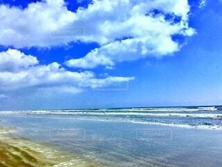 ロングビーチの写真・画像素材[4055943]