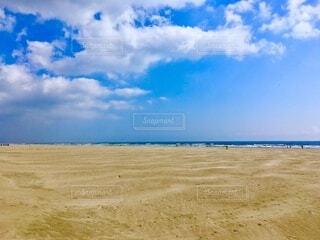 砂浜の写真・画像素材[4055944]
