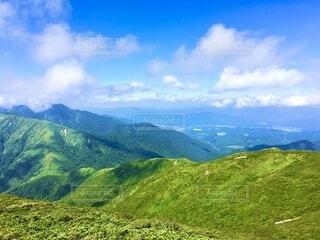 山頂からの風景の写真・画像素材[4055945]
