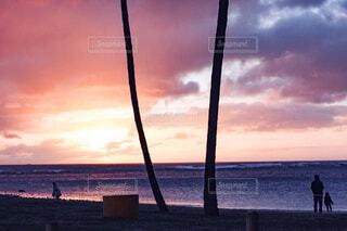 Gradation sunsetの写真・画像素材[4074712]