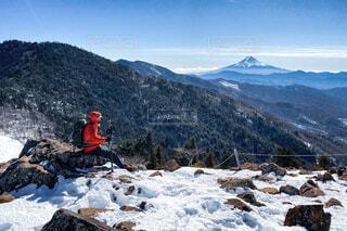 大菩薩峠からの眺めの写真・画像素材[4138725]