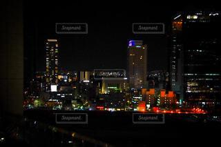 冬の夜景の写真・画像素材[4057101]