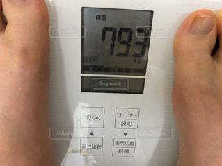 体重計の写真・画像素材[3018511]