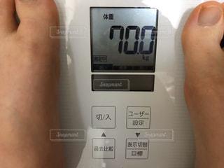 体重計の写真・画像素材[3018512]