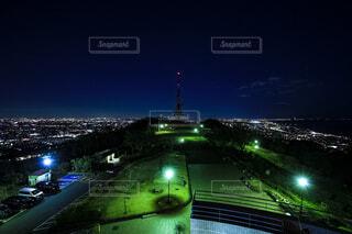 湘南平の夜景の写真・画像素材[4060623]
