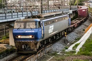 貨物列車の写真・画像素材[4069929]