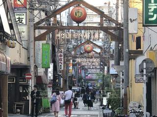 横浜、野毛、昼の風景の写真・画像素材[4062213]
