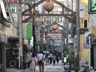 横浜、野毛、昼の風景の写真・画像素材[4062204]