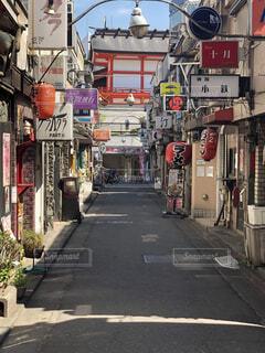 新宿、ゴールデン街、昼の風景の写真・画像素材[4062212]