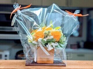 石鹸素材で出来た観賞用のお花の写真・画像素材[4302536]
