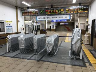 福知山駅がついに自動改札機導入!の写真・画像素材[4072591]