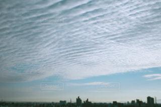 高積雲の空の写真・画像素材[4277363]