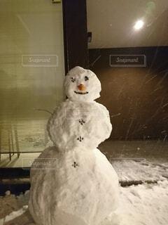 雪だるまの写真・画像素材[4215723]