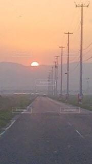 夕日の写真・画像素材[4122783]