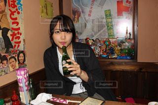 居酒屋デートの写真・画像素材[815840]