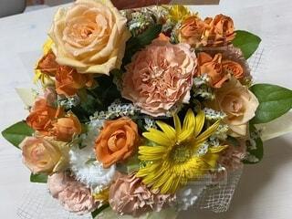 バラの花束の写真・画像素材[4097501]
