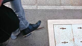 靴が笑ってるの写真・画像素材[4103227]
