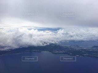 飛行機時間の癒しの写真・画像素材[4099296]