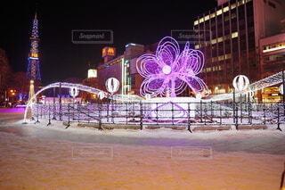 札幌ホワイトイルミネーションの写真・画像素材[4105340]