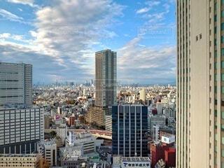 都内の高い建物の写真・画像素材[4107581]