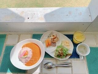 沖縄のカフェの写真・画像素材[4116821]