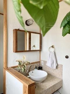 造作洗面 注文住宅の写真・画像素材[4122081]