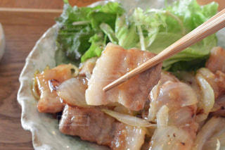 豚の生姜焼きの写真・画像素材[1079935]