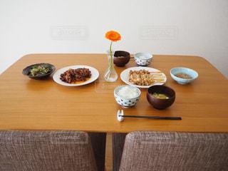 夫婦の食卓の写真・画像素材[3140933]