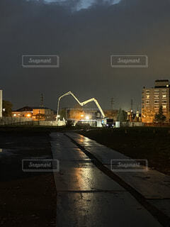夜間の写真・画像素材[4128073]