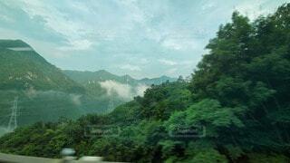 高速道路からみた景色の写真・画像素材[4419079]