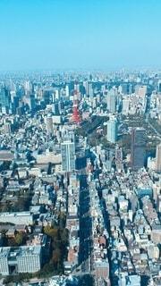 東京上空の写真・画像素材[4168418]
