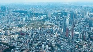 上空からの都市の眺めの写真・画像素材[4168419]