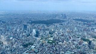 東京の空撮写真の写真・画像素材[4168420]