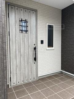 玄関ドアの写真・画像素材[4148837]
