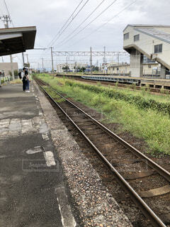 無人駅の写真・画像素材[4139595]