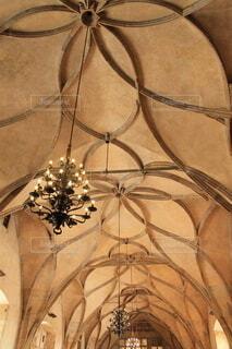 教会の天井の写真・画像素材[4138514]